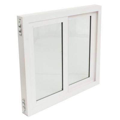 Ventana de abrir 2Hojas PVC DVH 150 x 60 x 9