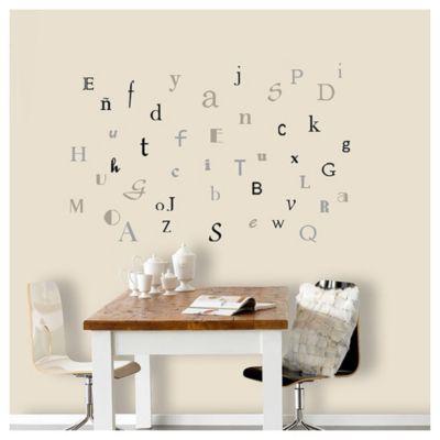 Wallstickers letras 50x70 cm