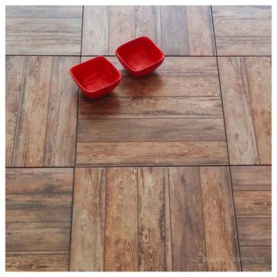 Cerámica de interior/exterior 45.3 x 45.3 Rústico marrón 2.05 m2