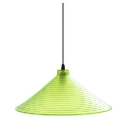 Colgante policarbonato 350 mm Ø verde