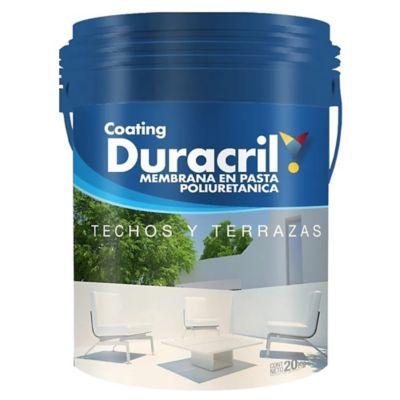 Membrana poliuretánica en pasta 20 kg