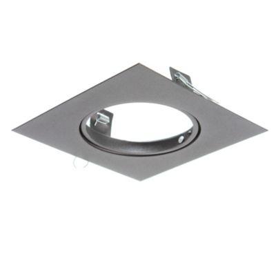 Spot de embutir cuadrado móvil 1 luz AR111 Negro