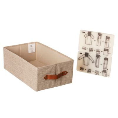 Caja organizadora de tela