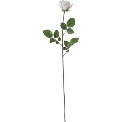 Flor artificial vara rosa crema 75 cm