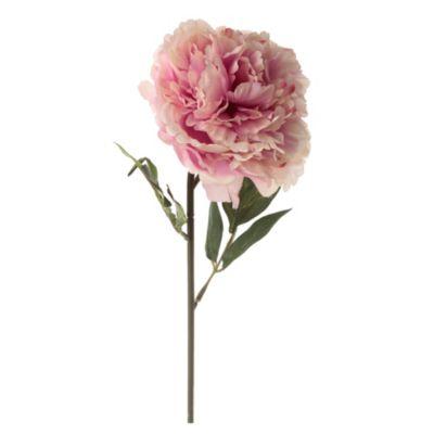Flor artificial vara peonia 63 cm