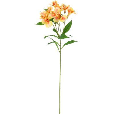 Flor artificial vara lirio rosado 71 cm