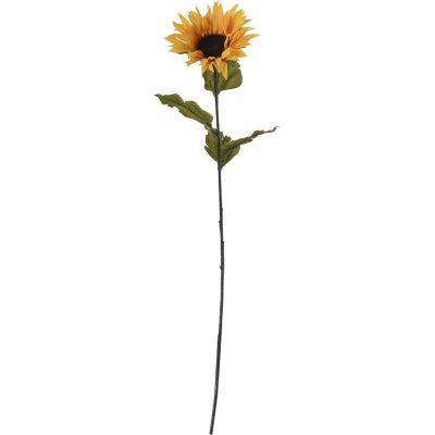 Flor artificial vara girasol 81 cm