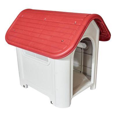 Cucha para perro roja 75 x 59 x 66 cm