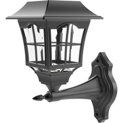 Estaca solar LED Rustica negra