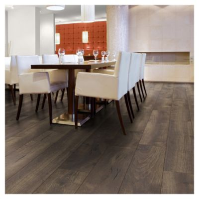 Piso flotante 10 mm Pet Oak Dark 2.02 m2