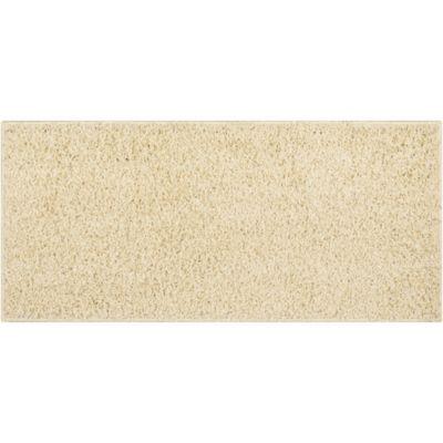 Alfombra Shaggy Conrad beige 50 x 110 cm