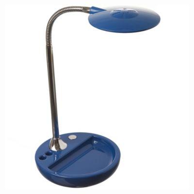Lámpara de escritorio azul