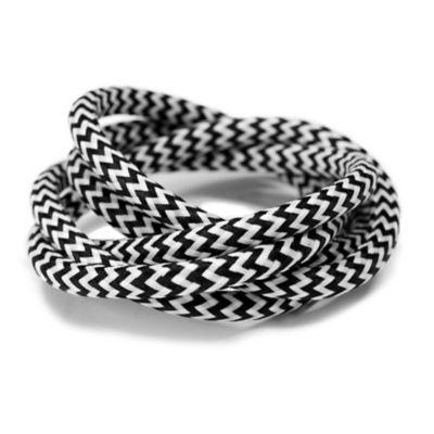 Cable Textil Zigzag x 5 m
