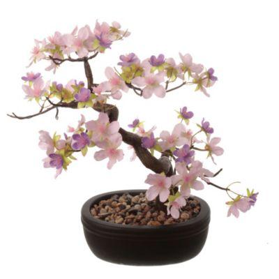 Bonsai Florido rosa