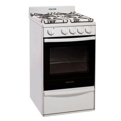 Cocina 4 hornallas blanca 55 cm