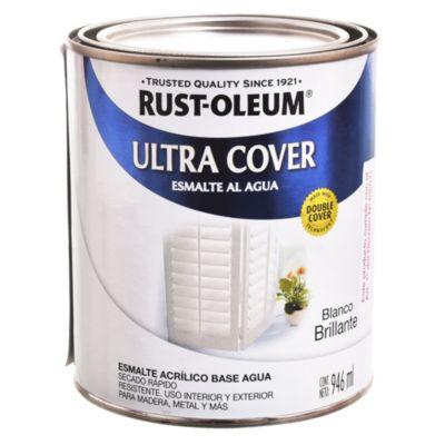 Esmalte Ultra Cover brillante blanco 1 l