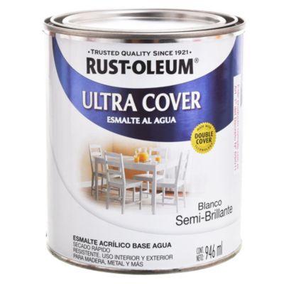 Esmalte Ultra Cover semi brillante blanco 1 l