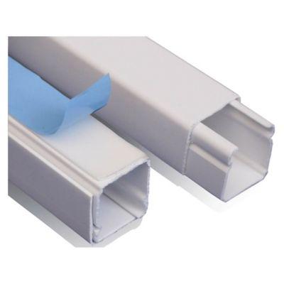 Cablecanal 20x20 2 Metros con adhesivo