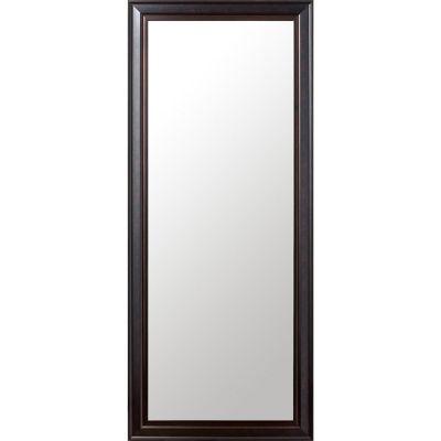 Espejo rectangular 50 x 120 cm Café