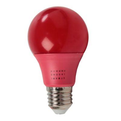 Lámpara A60 eco LED 6w Rojo