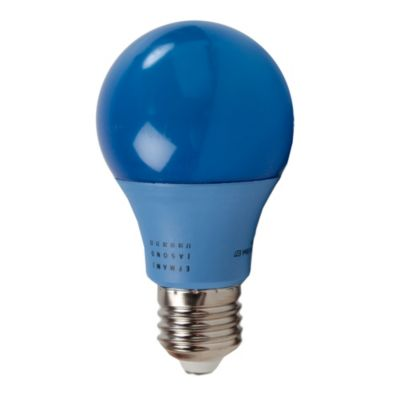 Lámpara A60 eco LED 6w Azul