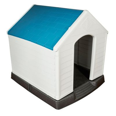 Cucha para perro grande azul 105 x 100 x 97 cm