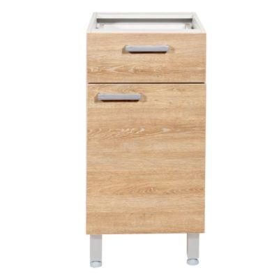 Bajo mesada 40 cm Ambar 1 cajón y 1 puerta