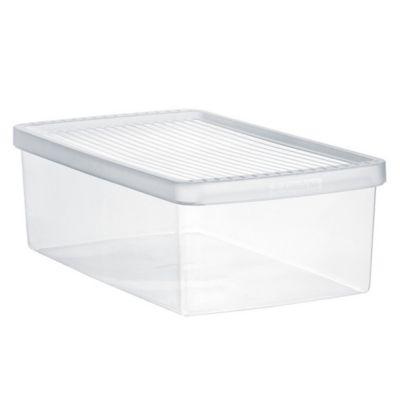 Caja plástica para alimentos mediana