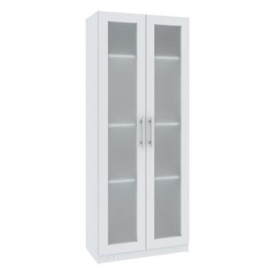 Despensero Acrílico 2 puertas mediano blanco