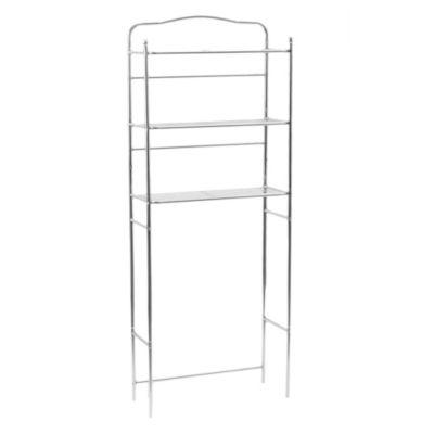 Mueble sobre inodoro con 3 estantes