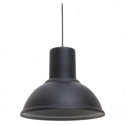 Colgante galponero Negro/Platil