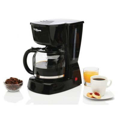 Cafetera 1.8 L negra