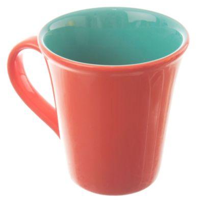 Jarro Mug Naranja/Verde