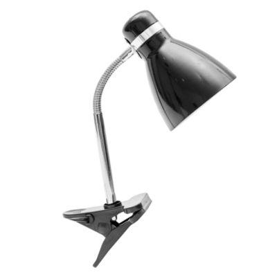 Lámpara Pinza pipo E27 Negra