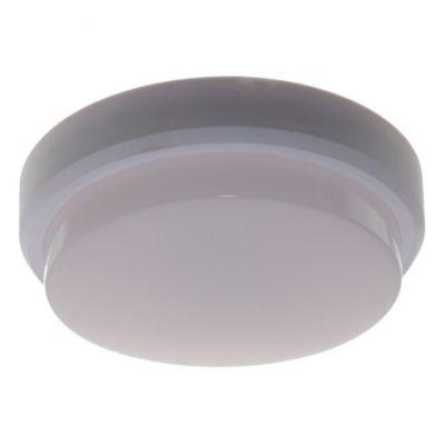 Tortuga Led policarbonato redonda blanca 12 w 4000K