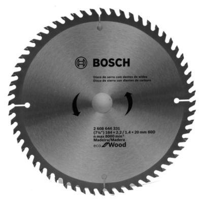 Disco de sierra circular 184 mm