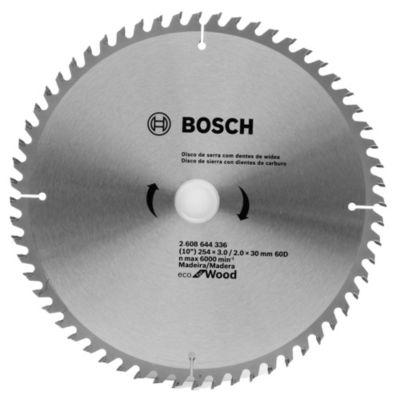 Disco de sierra circular 254 mm