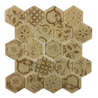 Malla hexagonal vesuvio 30 x 30 cm