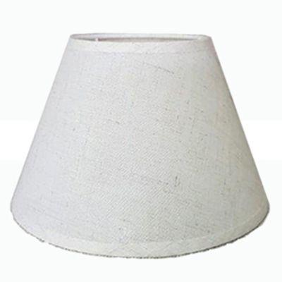 Pantalla para lámpara crudo 10 x 20 x 14 cm