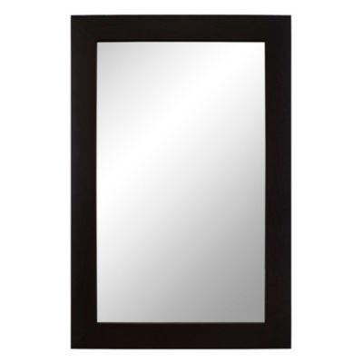 Espejo para baño Home wengue 60 x 40 cm