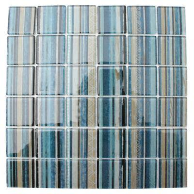 Malla mosaico 30 x 30 Lineas azul 0.63 m2
