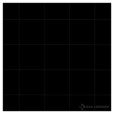Porcelanato 27.5 x 27.5 Lux negro 0.91 m2