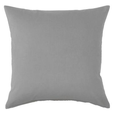 Almohadón decorativo panamá gris liso 40x40 cm