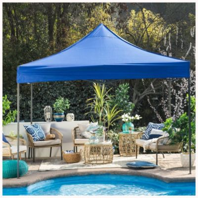 Gazebo 3 x 3 plegable azul
