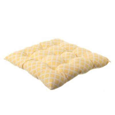 Almohadón decorativo Tatami Costa Vitral Amarillo 45 x 45 cm
