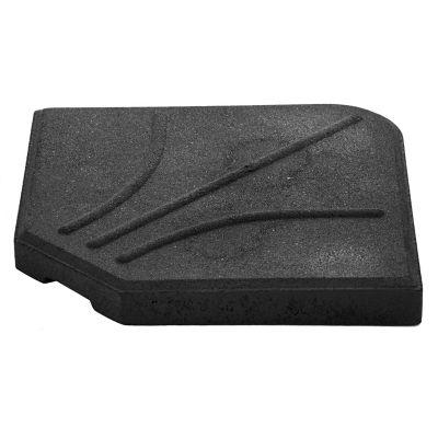 Base para sombrilla 25 kg 1/4 negra