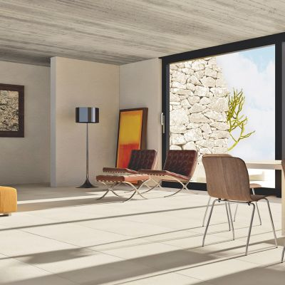 Porcelanato mate 60 x 60 Soho Lounge marfil  1.8 m2
