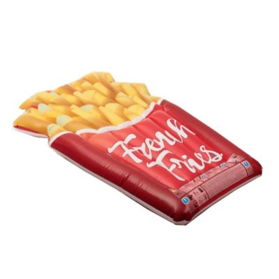 Colchoneta inflable papas fritas