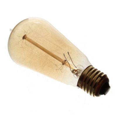 Lámpara antique ST58 24W E27