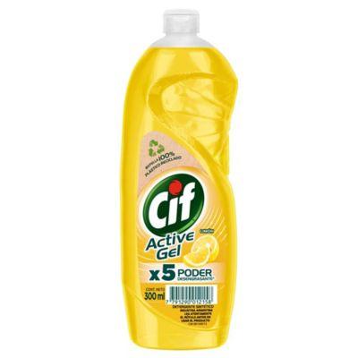 Detergente para vajilla active gel limon 500 ml